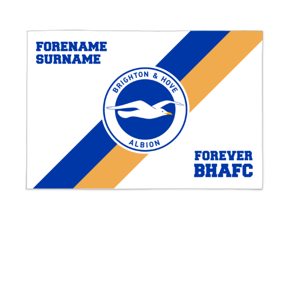 Brighton & Hove Albion FC Forever 6ft x 4ft Banner