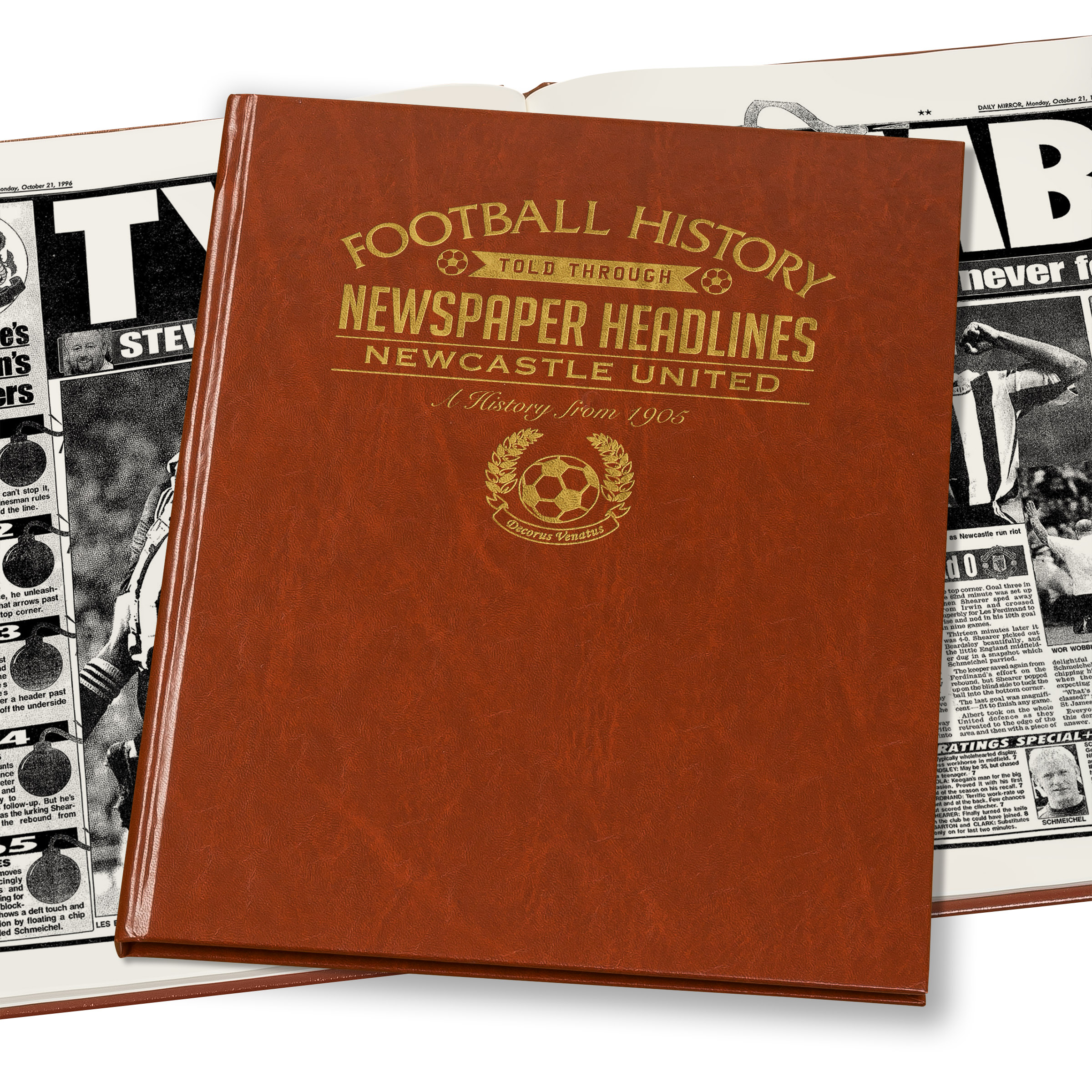 Newcastle United Newspaper Book