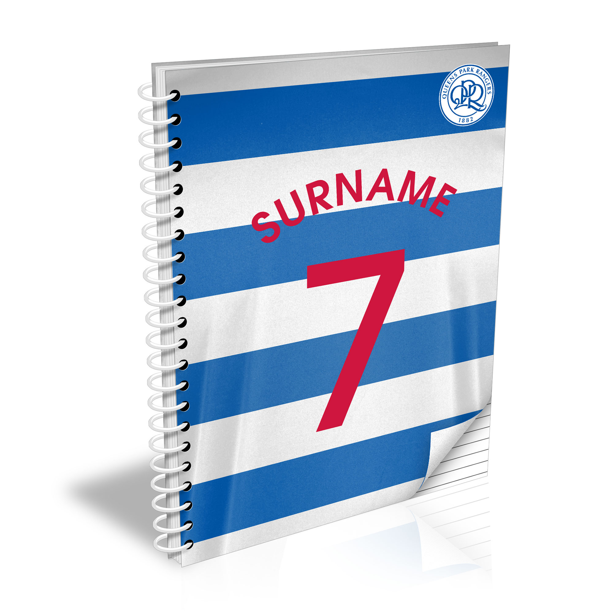 Queens Park Rangers FC Shirt Notebook