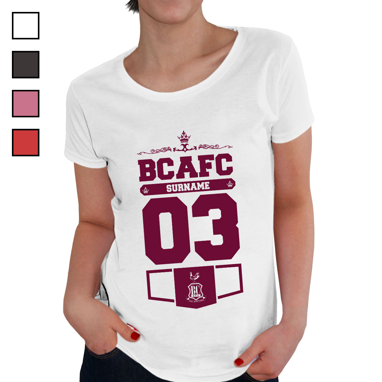 Bradford City AFC Ladies Club T-Shirt