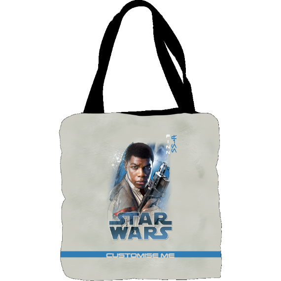Star Wars Finn Last Jedi Spray Paint Tote Bag