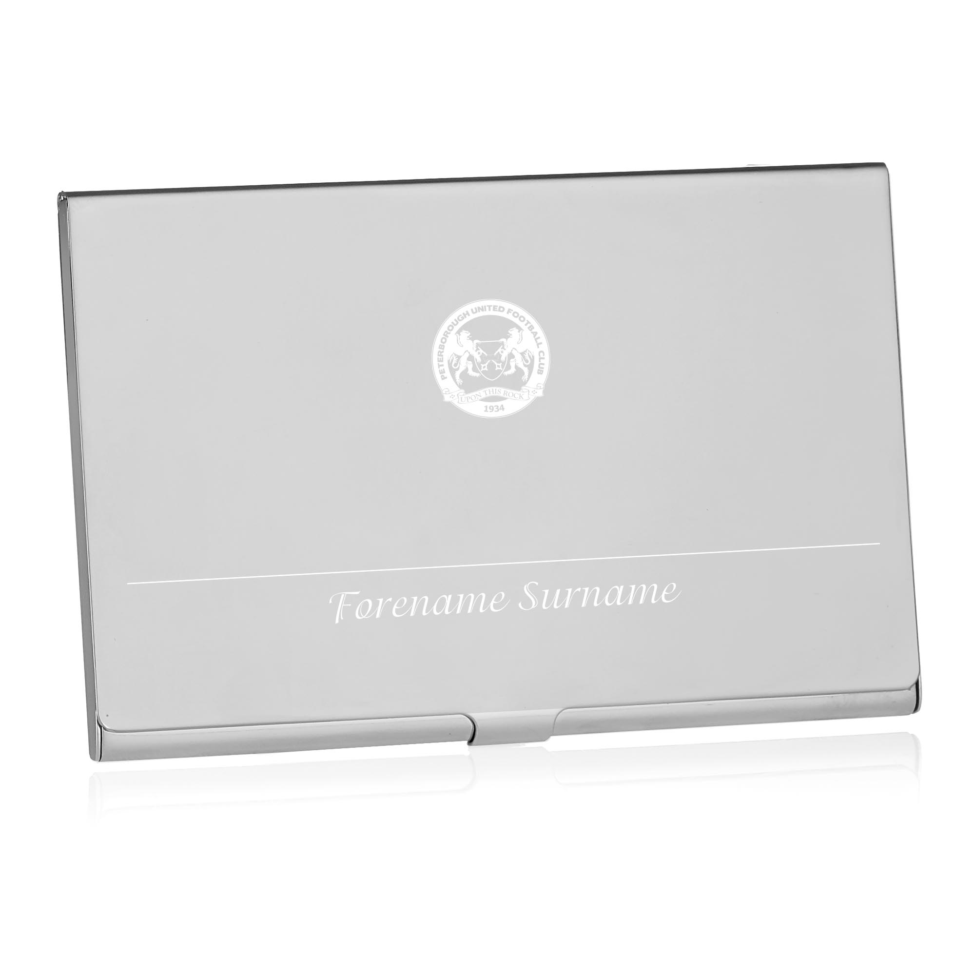 Peterborough United FC Executive Business Card Holder
