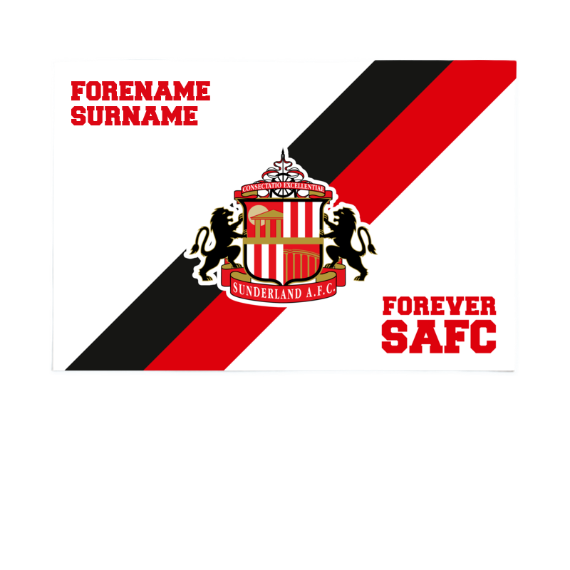Sunderland Forever 6ft x 4ft Banner