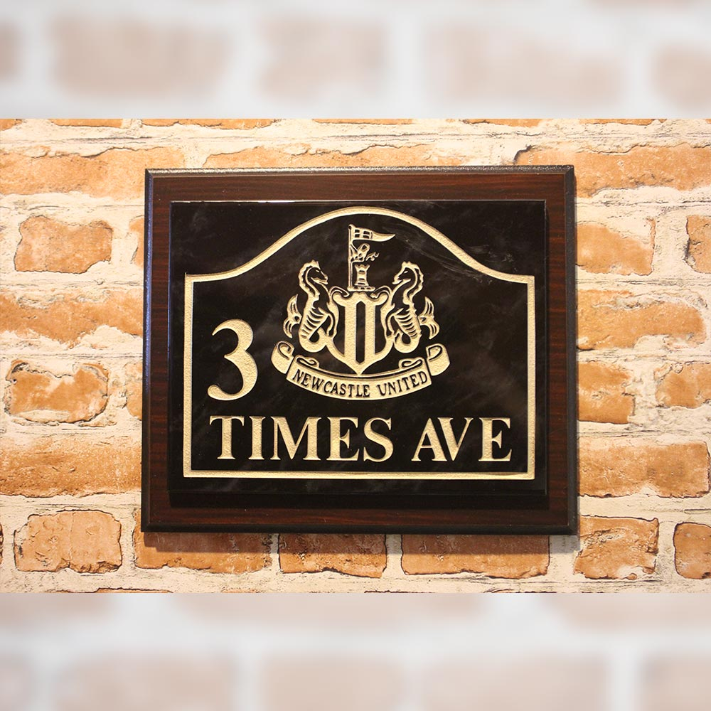Times Ave Plaque