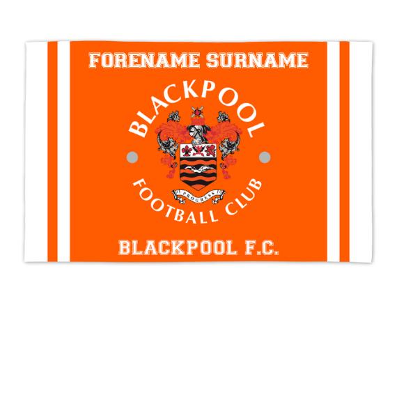 Blackpool Crest 8ft x 5ft Banner