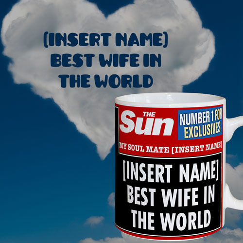 The Sun Best Wife Mug