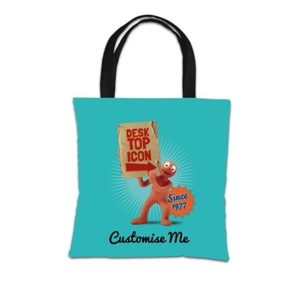 Aardman Morph 'Desktop Icon' Tote Bag