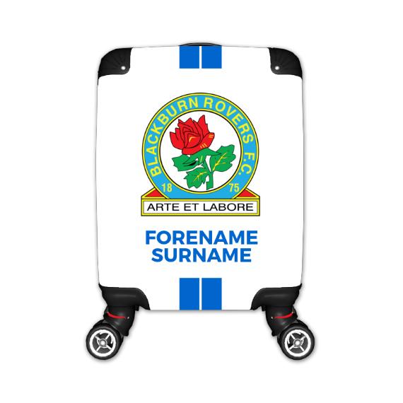 Blackburn Rovers Stripe Kid's Suitcase