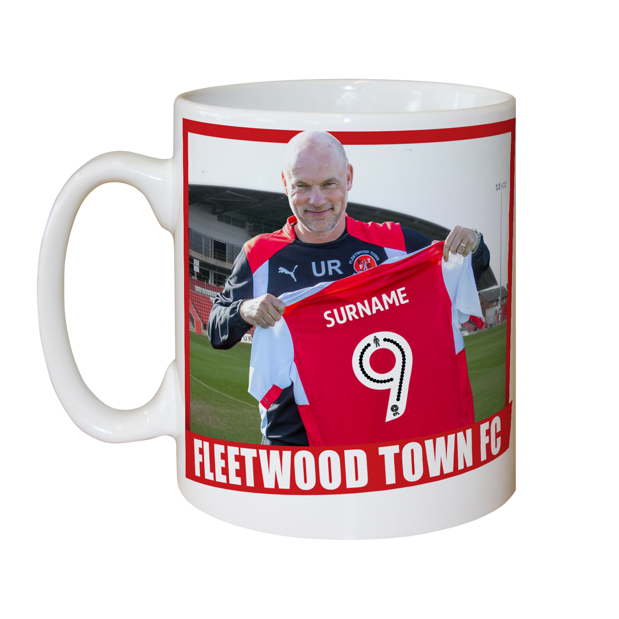 Fleetwood Town FC Manager Mug