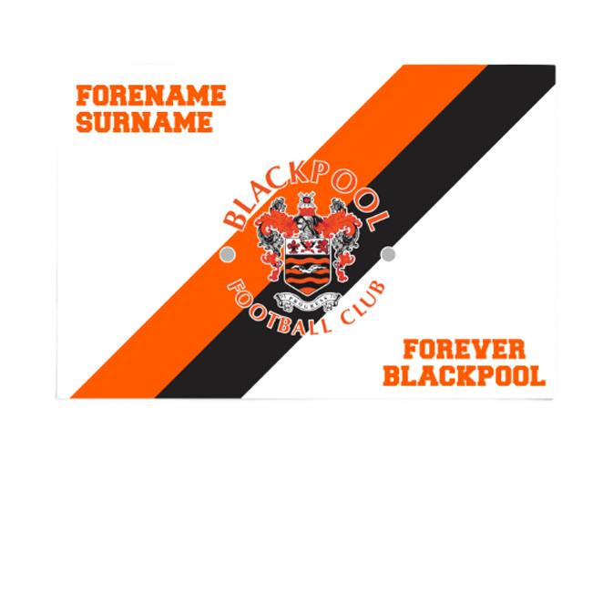 Blackpool Forever 6ft x 4ft Banner