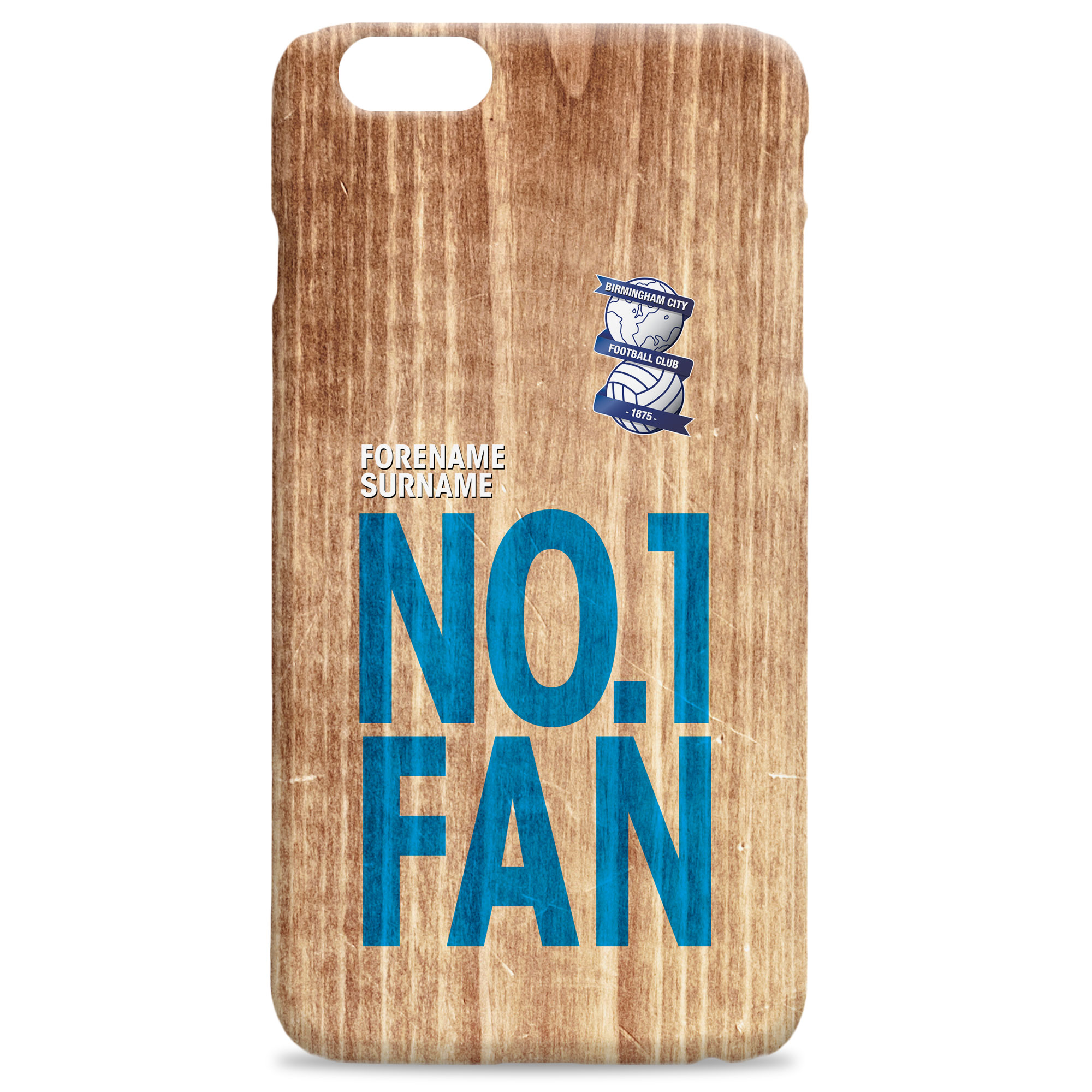 Birmingham City FC No 1 Fan Hard Back Phone Case