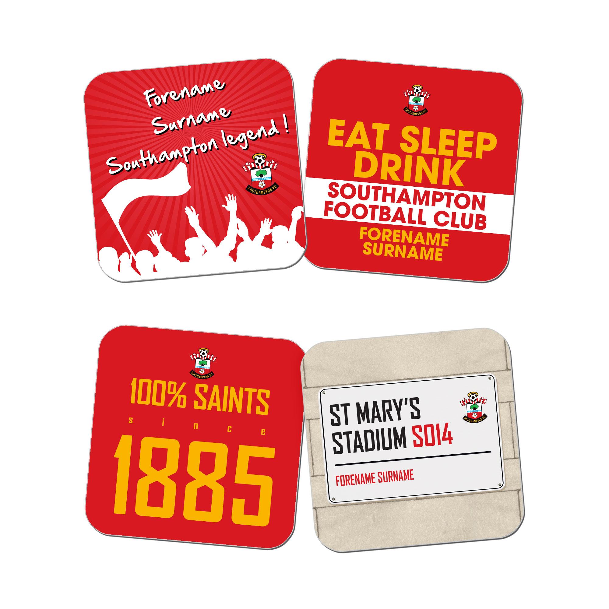 Southampton FC Coasters