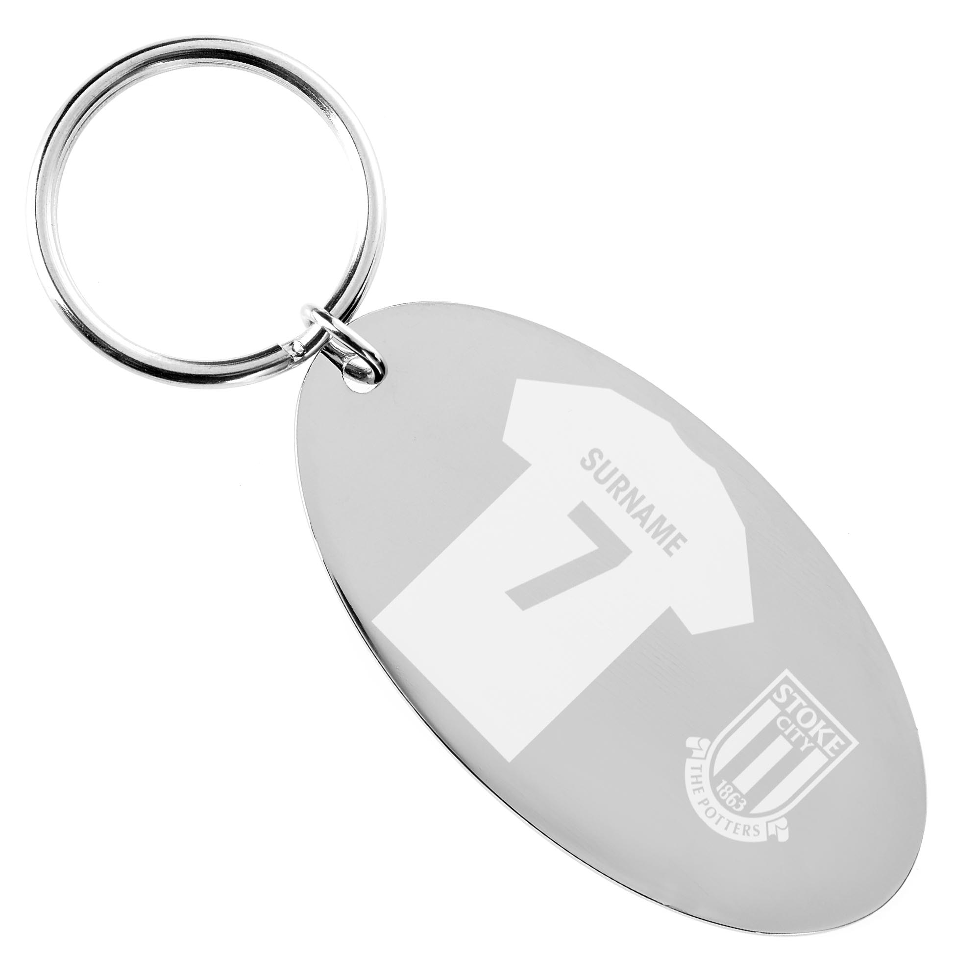 Stoke City FC Shirt Keyring