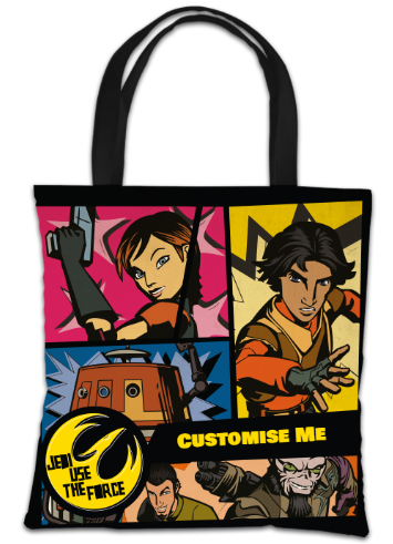 Star Wars Rebels Comic Print Tote Bag