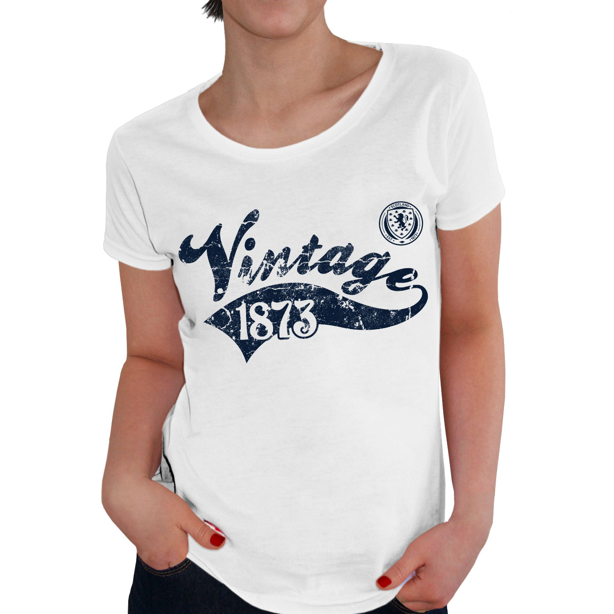 Scotland Ladies Vintage T-Shirt