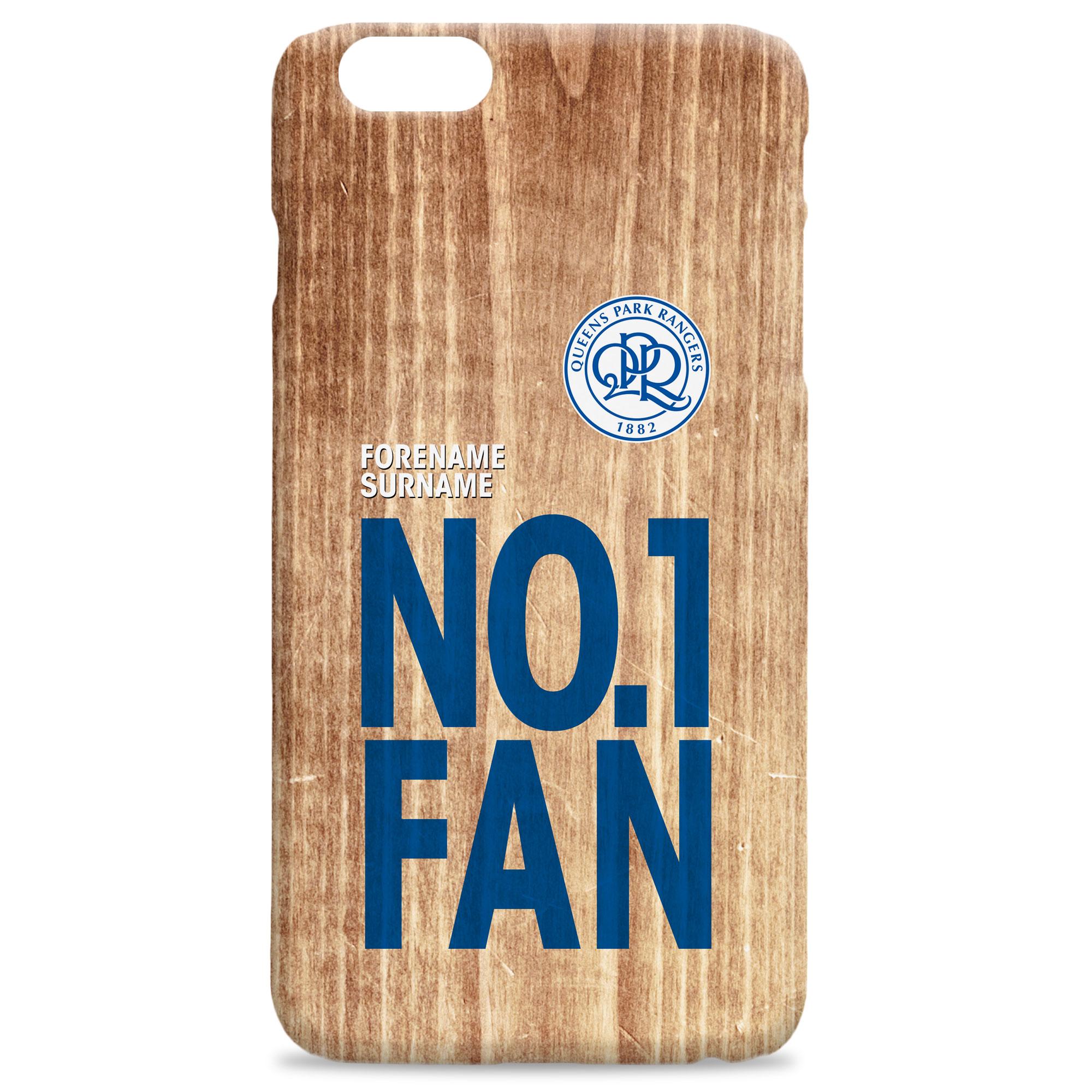 Queens Park Rangers FC No 1 Fan Hard Back Phone Case