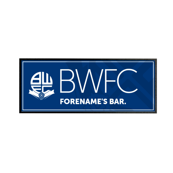 Bolton Wanderers FC Mono Crest Regular Bar Runner