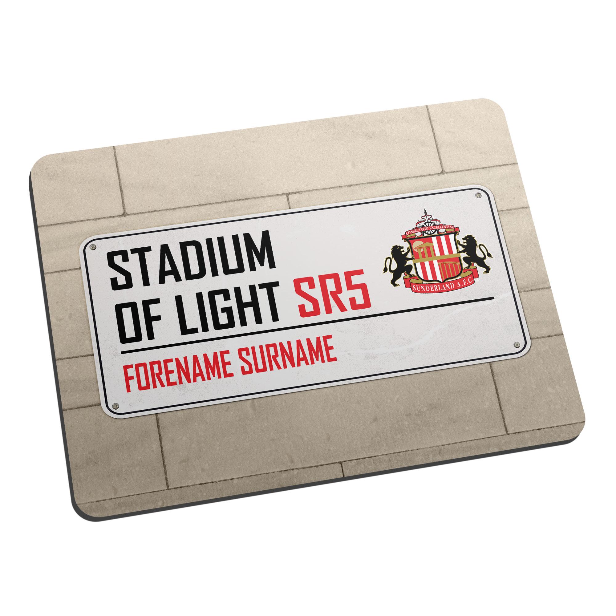 Sunderland AFC Street Sign Mouse Mat