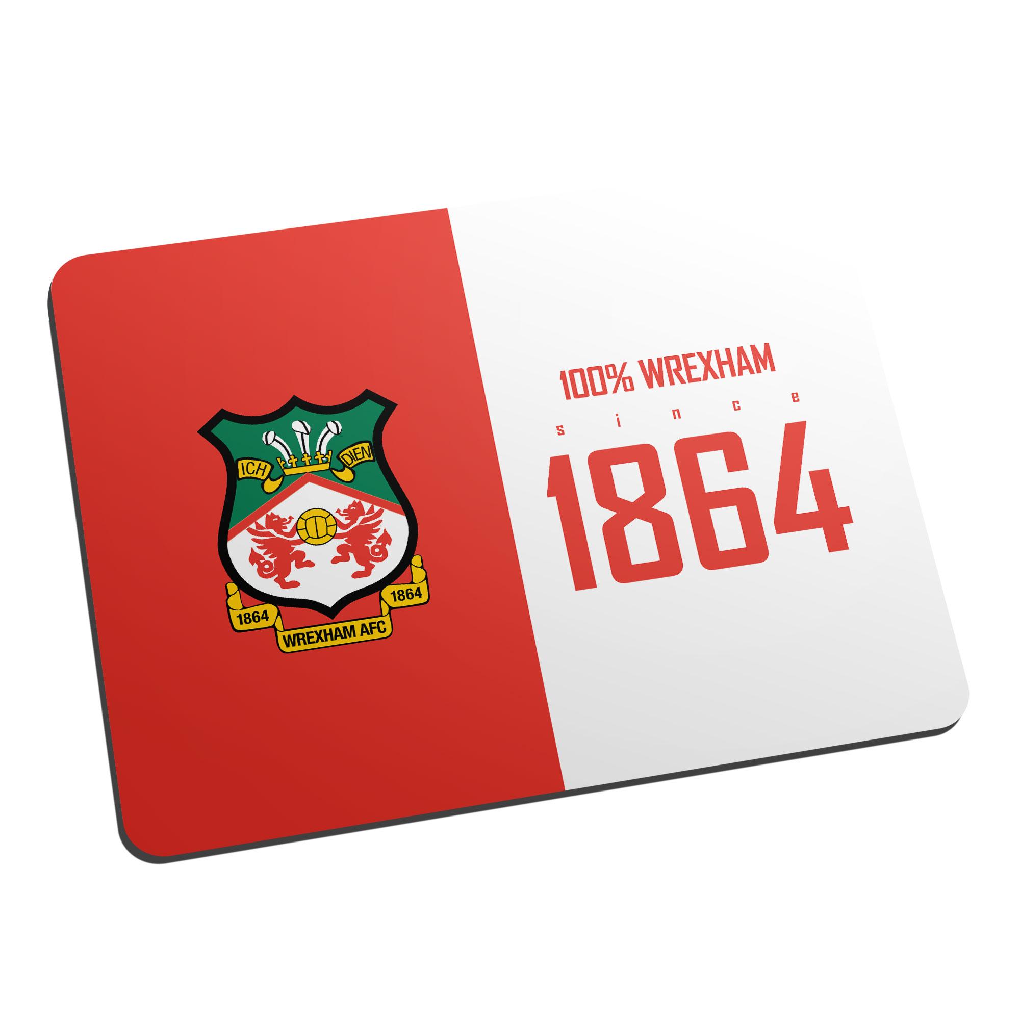 Wrexham AFC 100 Percent Mouse Mat