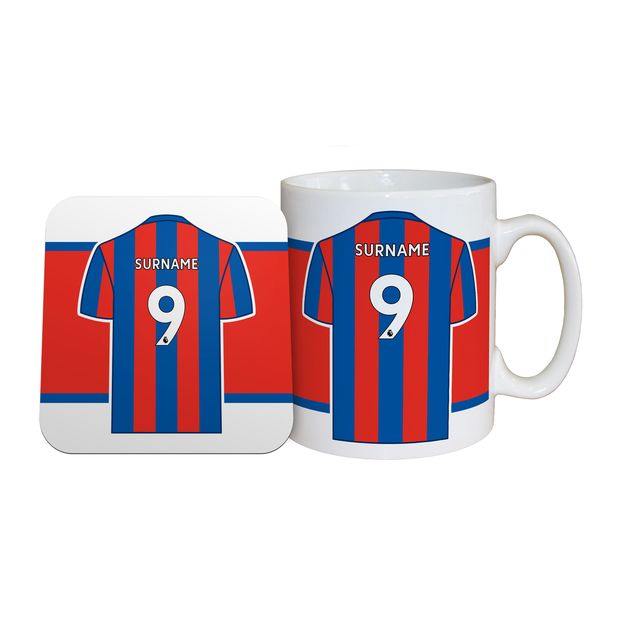 Crystal Palace FC Shirt Mug & Coaster Set