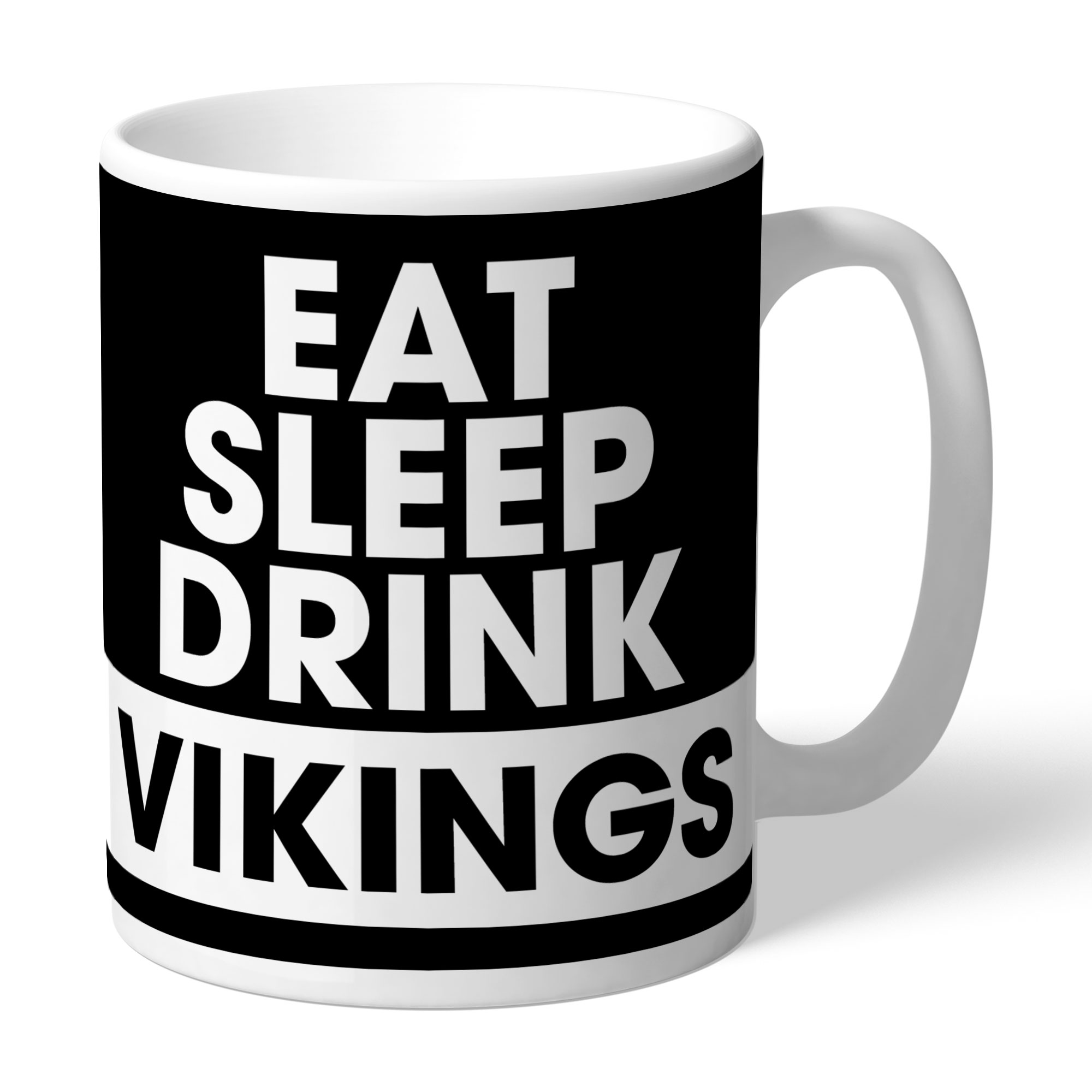 Widnes Vikings Eat Sleep Drink Mug