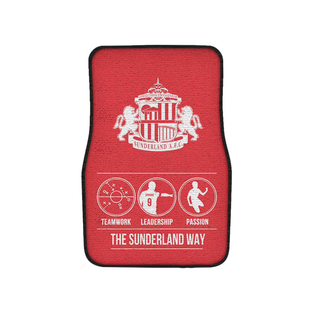 Sunderland AFC Way Front Car Mat