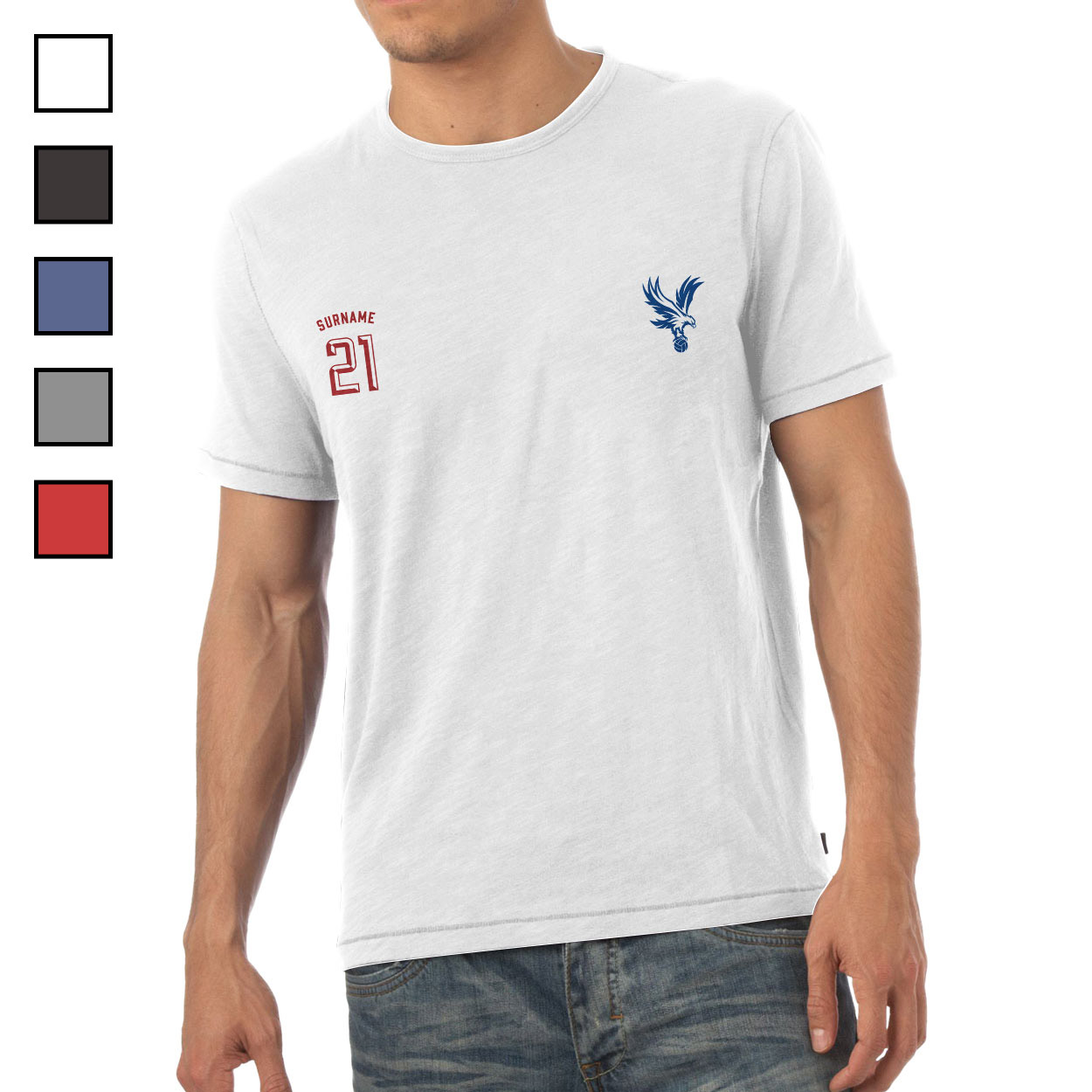 Crystal Palace FC Mens Sports T-Shirt