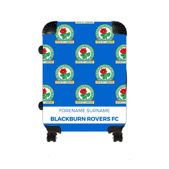 Blackburn Rovers Mini Crest Medium Suitcase