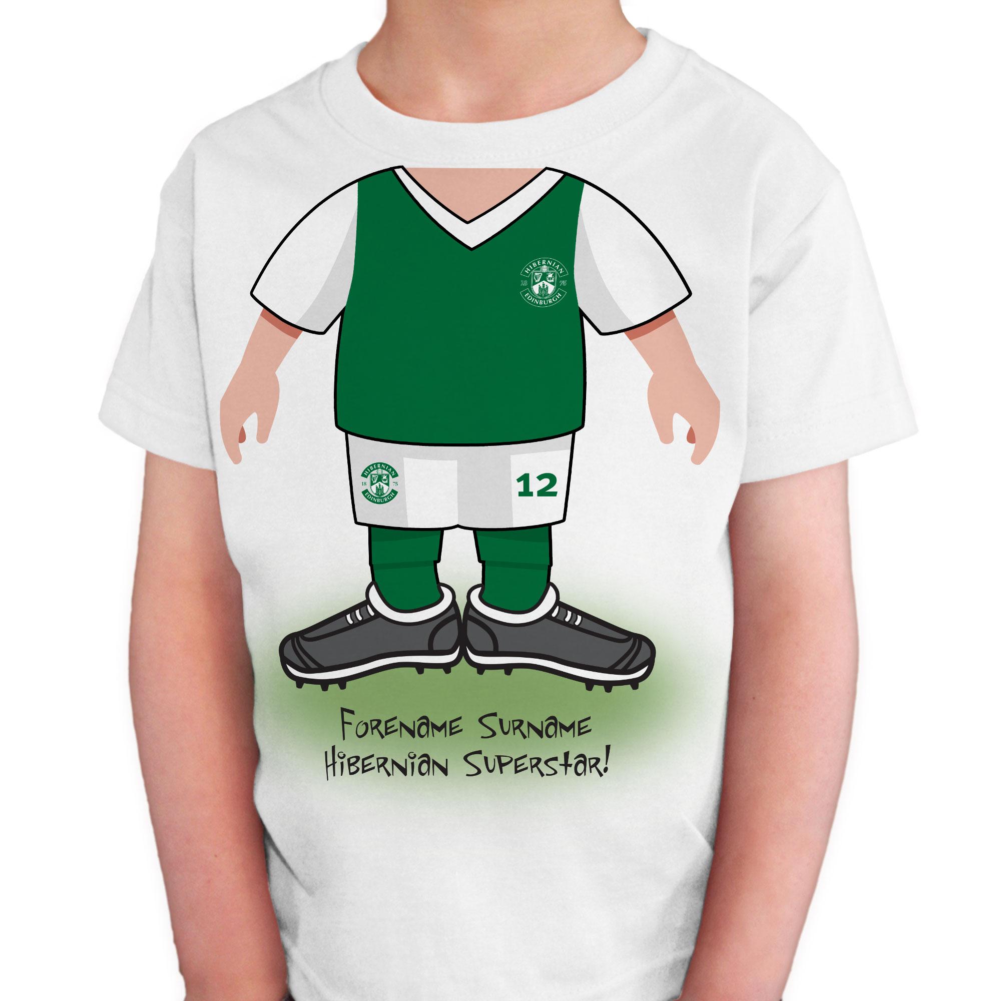 Hibernian FC Kids Use Your Head T-Shirt