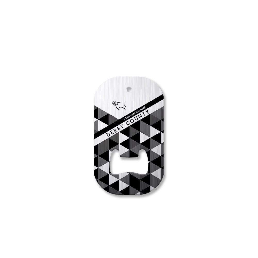 Derby County Patterned Compact Bottle Opener
