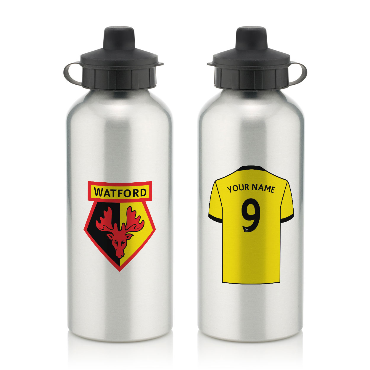 Watford FC Aluminium Water Bottle