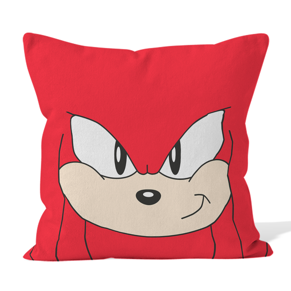 Microfibre Cushion - Knuckles Face - Classic Sonic