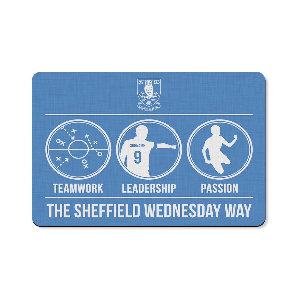 Sheffield Wednesday FC Way Floor Mat