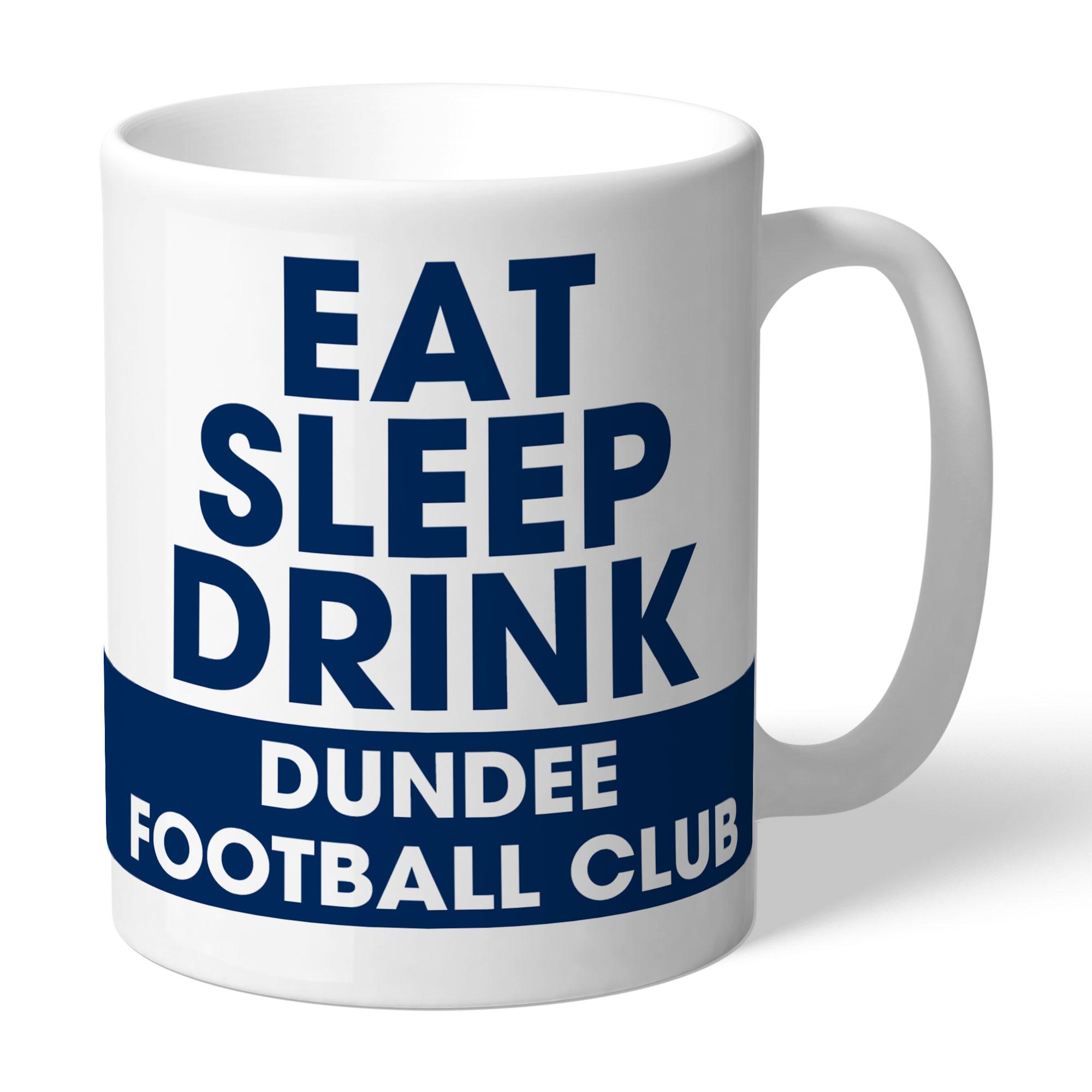 Dundee FC Eat Sleep Drink Mug