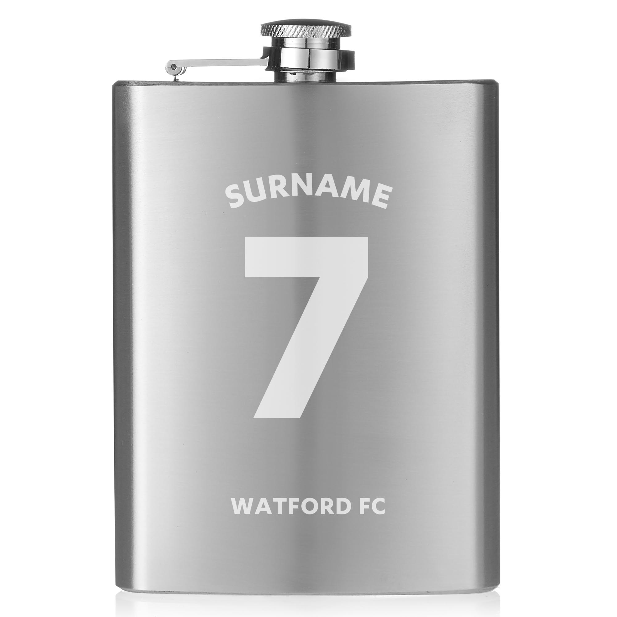 Watford FC Shirt Hip Flask