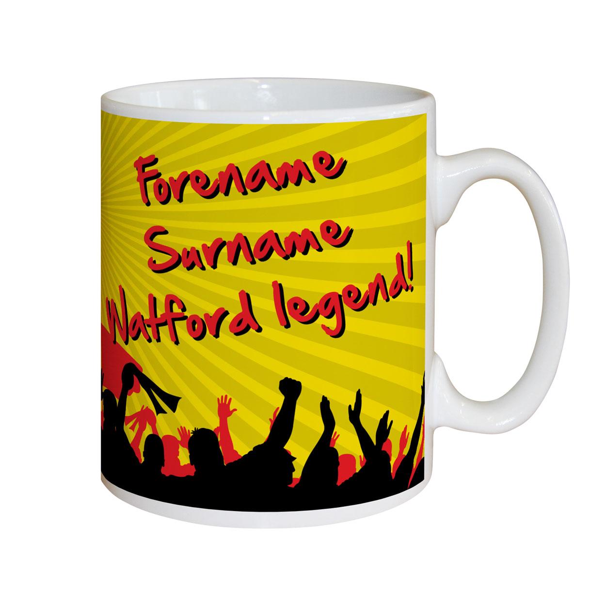Watford FC Legend Mug