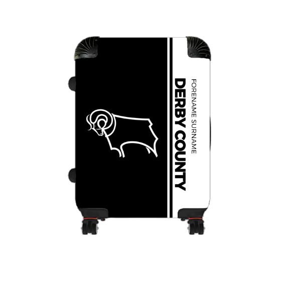 Derby County Crest Cabin Suitcase