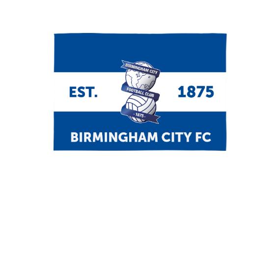 Birmingham City Supporters 3ft x 2ft Banner