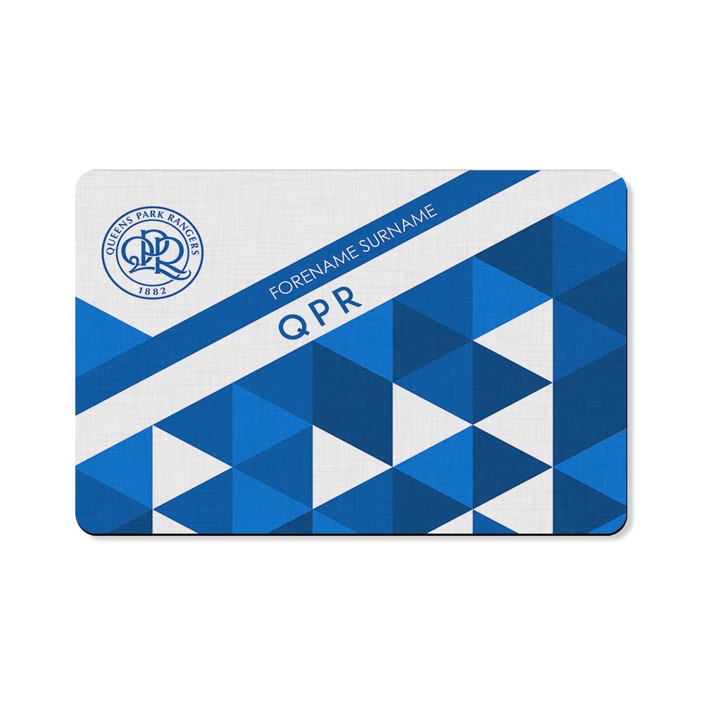Queens Park Rangers FC Patterned Floor Mat