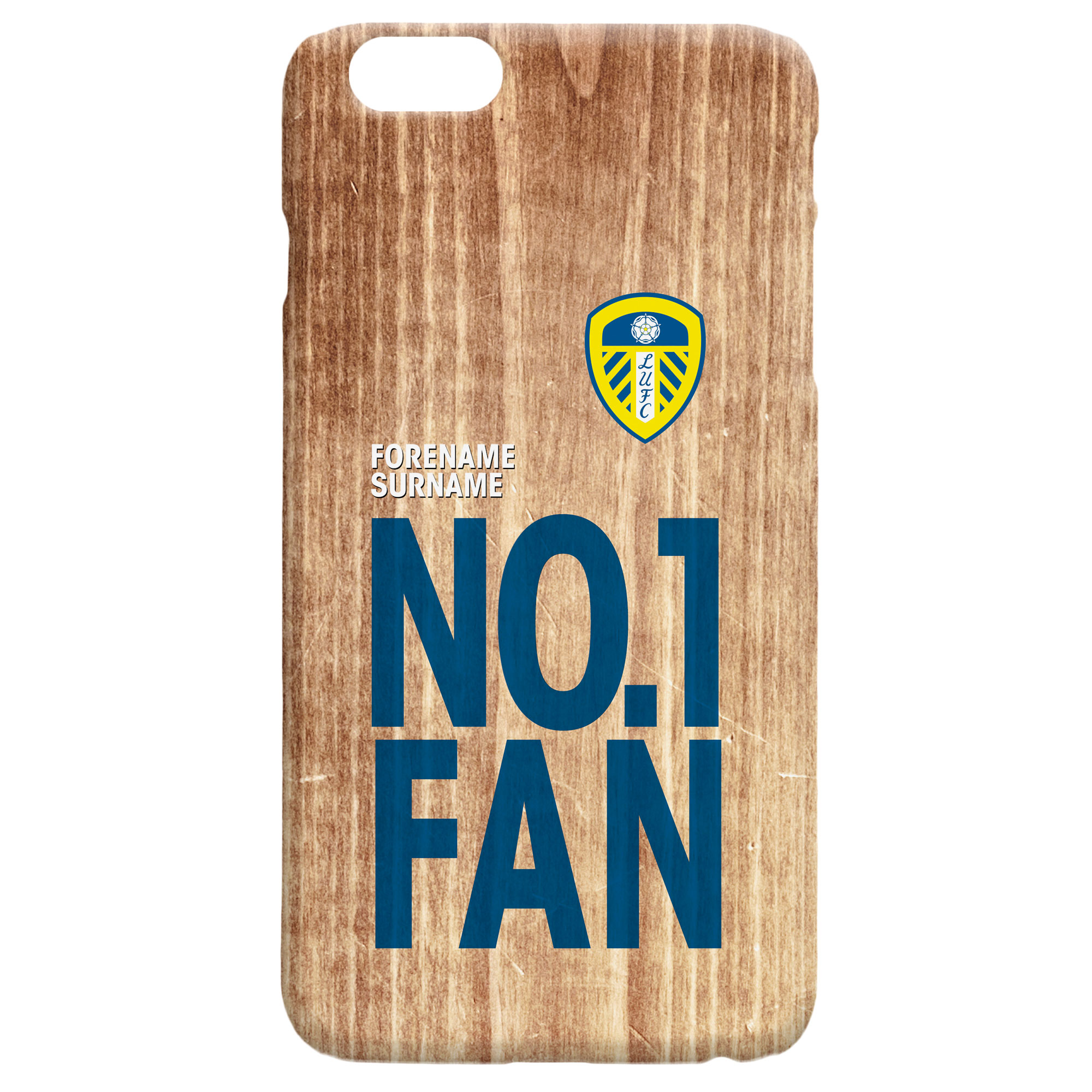 Leeds United FC No 1 Fan Hard Back Phone Case