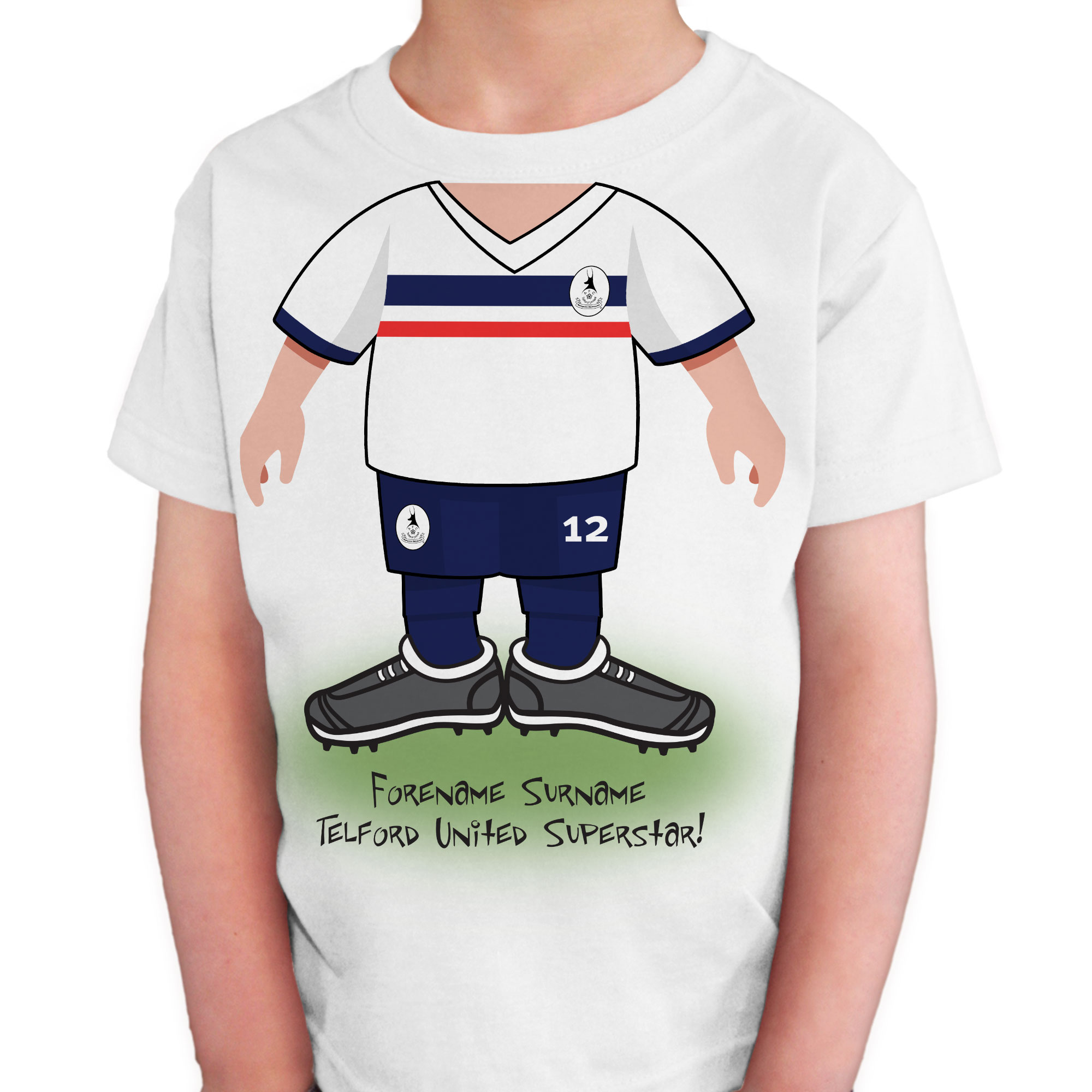 AFC Telford United Kids Use Your Head T-Shirt