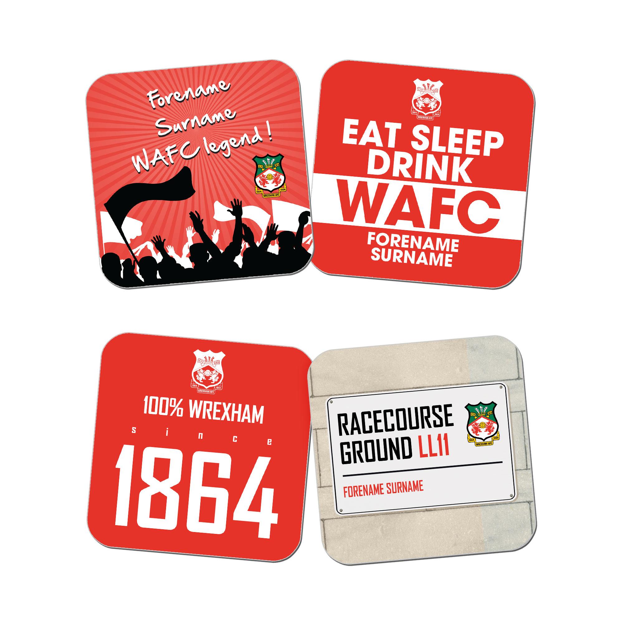 Wrexham AFC Coasters