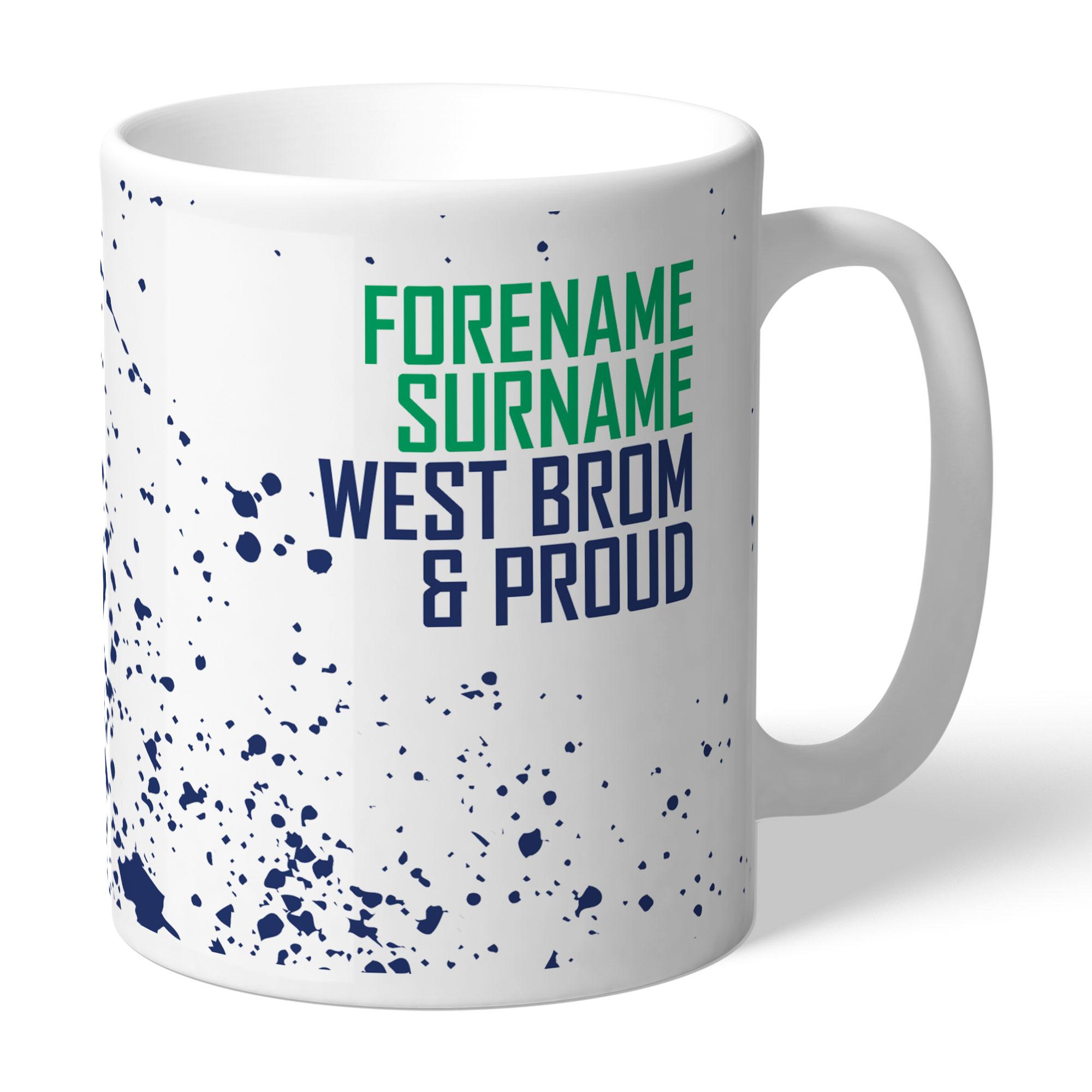 West Bromwich Albion FC Proud Mug