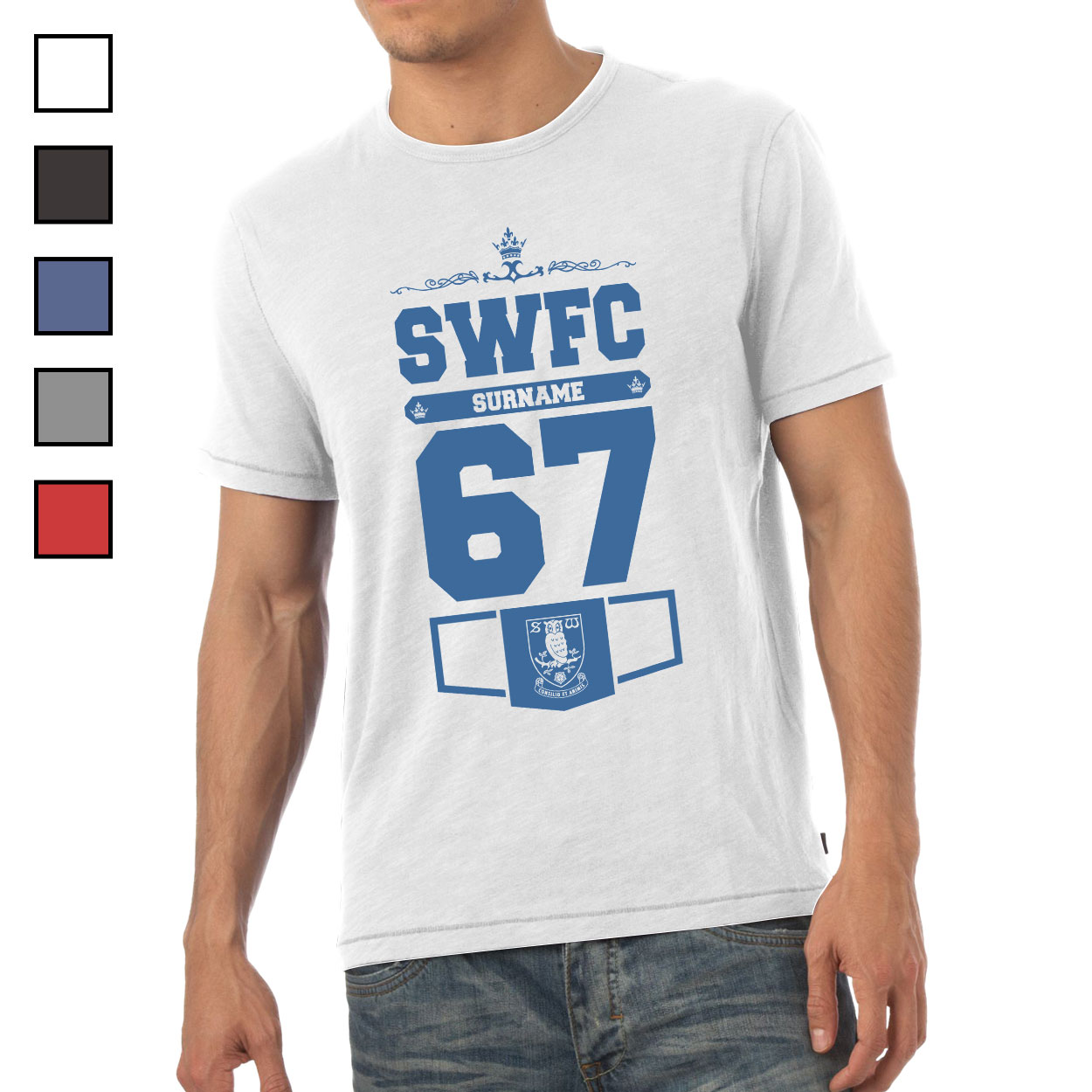 Sheffield Wednesday FC Mens Club T-Shirt