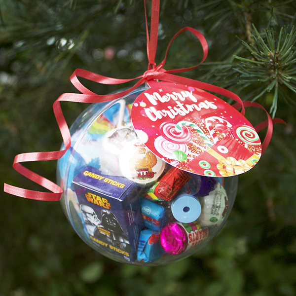 Christmas Sweetie Bauble