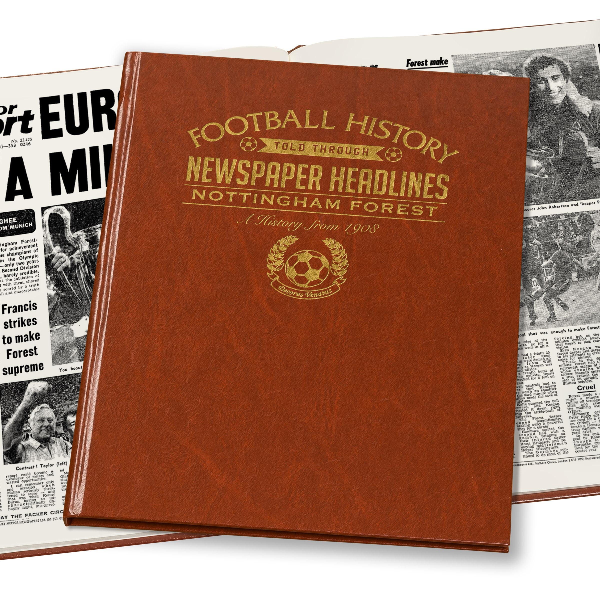 Nottingham Forest Newspaper Book