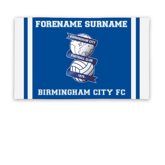 Birmingham City Crest 5ft x 3ft Banner