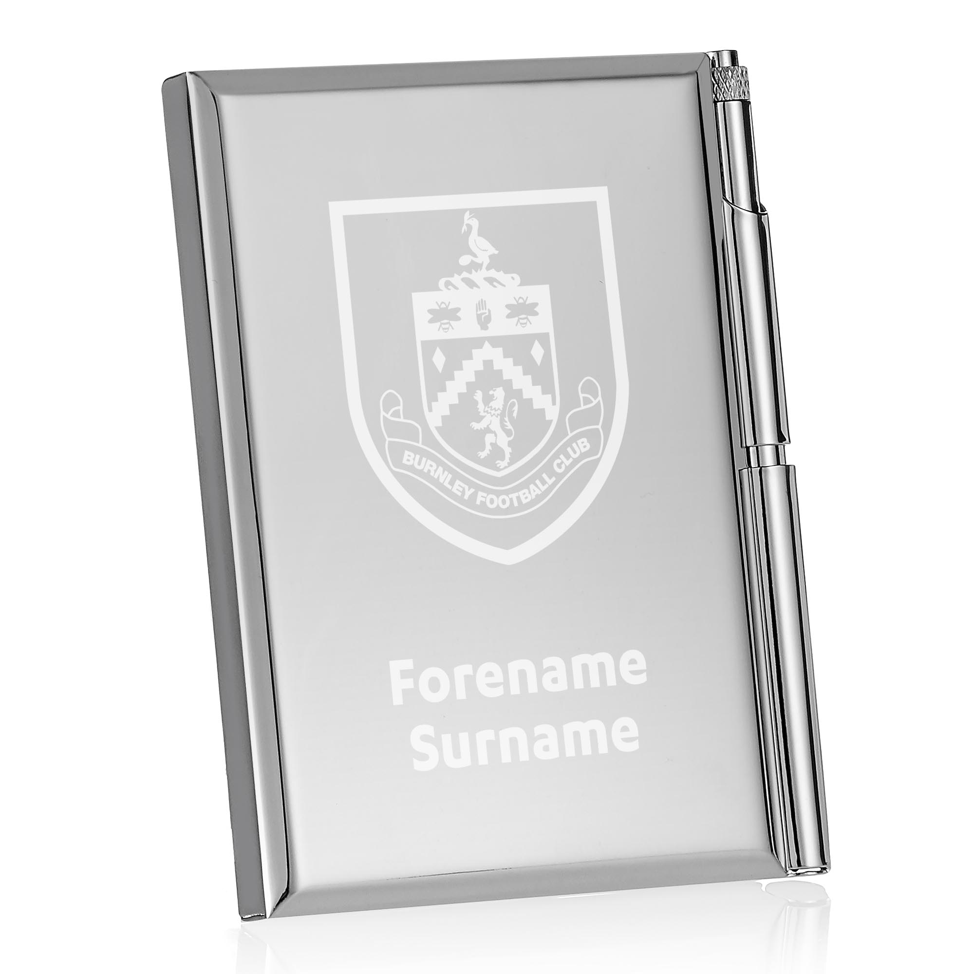 Burnley FC Crest Address Book