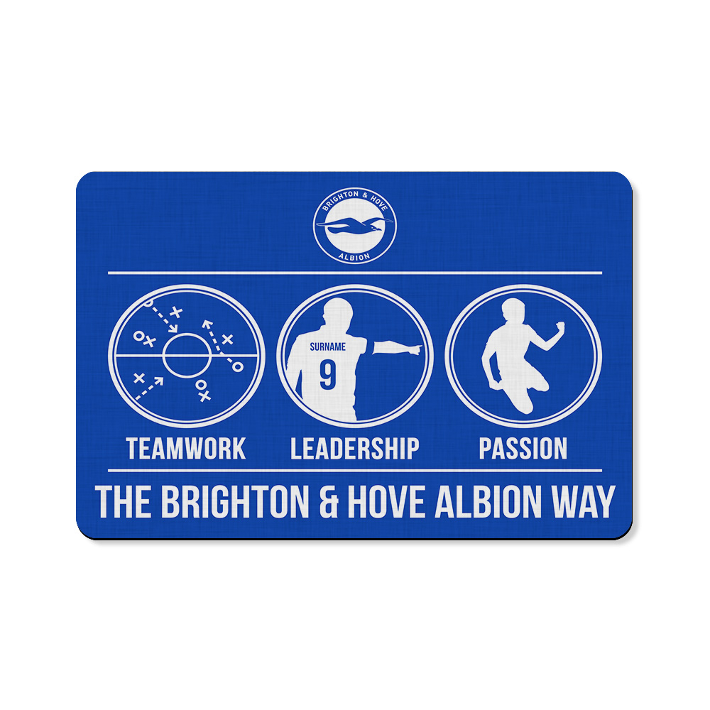 Brighton & Hove Albion FC Way Floor Mat