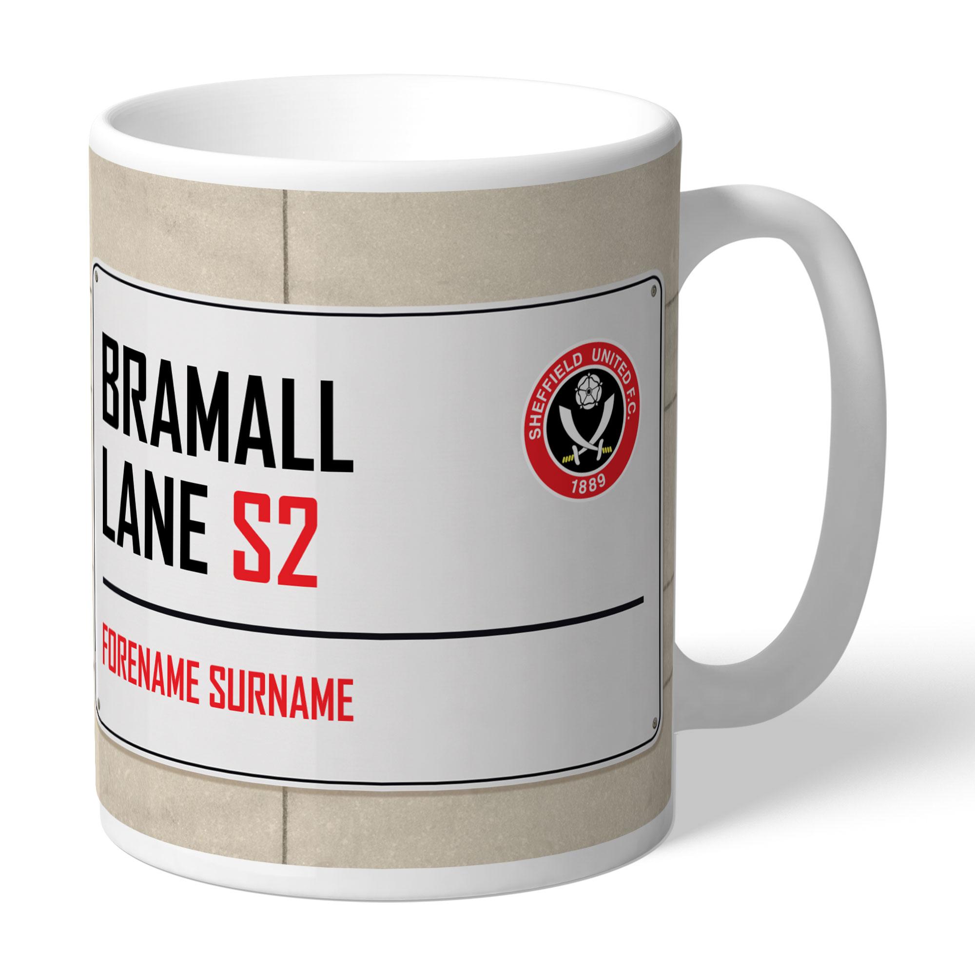 Sheffield United FC Street Sign Mug